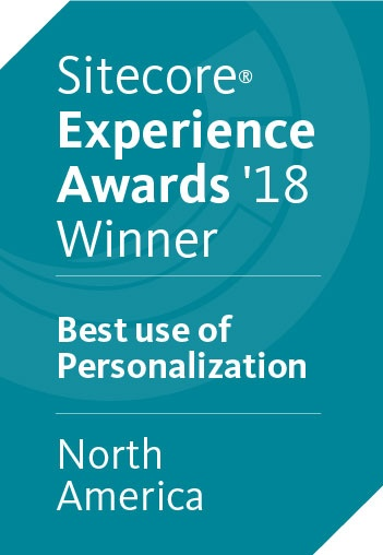 Fulton and SilverTech win the Sitecore Experience Award in 2018 for Best use of Personalization.